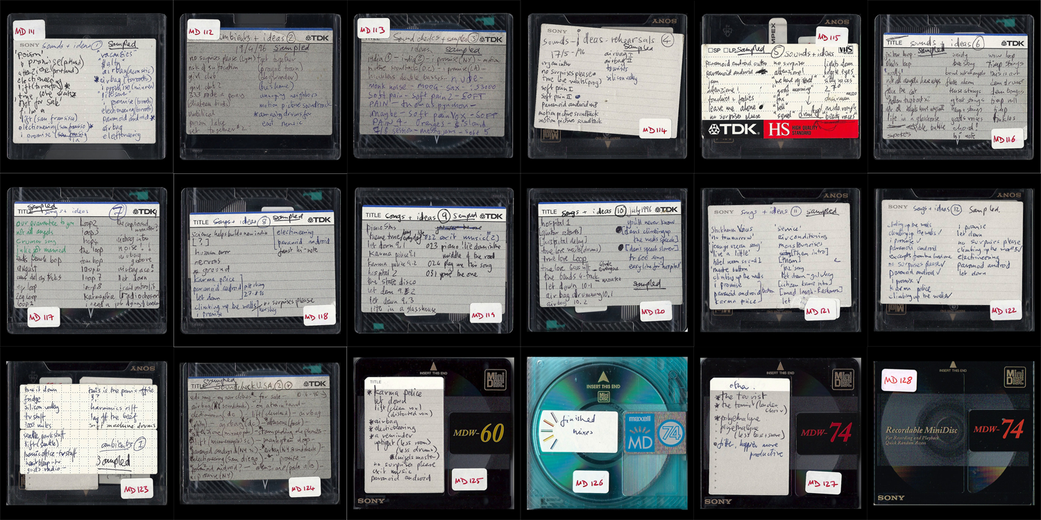 This is the place: Delving into Radiohead's hacked minidiscs